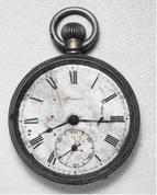 「8時15分で止まった時計」 爆心地より1.6キロで被爆 / 二川 一夫さん 寄贈 / 広島市 平和記念資料館所蔵